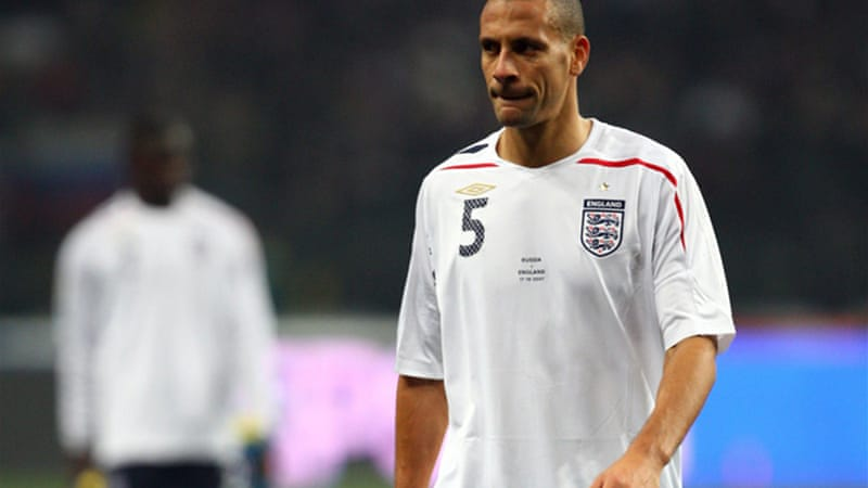 Man United defender Rio Ferdinand will not be joining teammate Wayne Rooney at Euro 2012 [GALLO/GETTY]