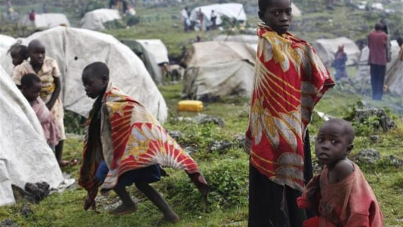 Fighting in the Democratic Republic of Congo has caused thousands to flee since April [REUTERS]