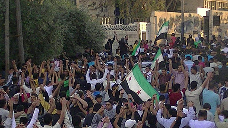 The report said during 2011 Syria used indiscriminate and deadly force to quell peaceful protests [AFP]
