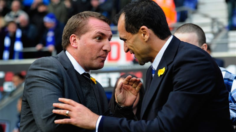 Swansea manager Brendan Rodgers declined the tempting Anfield offer, but Wigan counterpart Roberto Martinez has been granted permission by his club to open talks [GETTY]