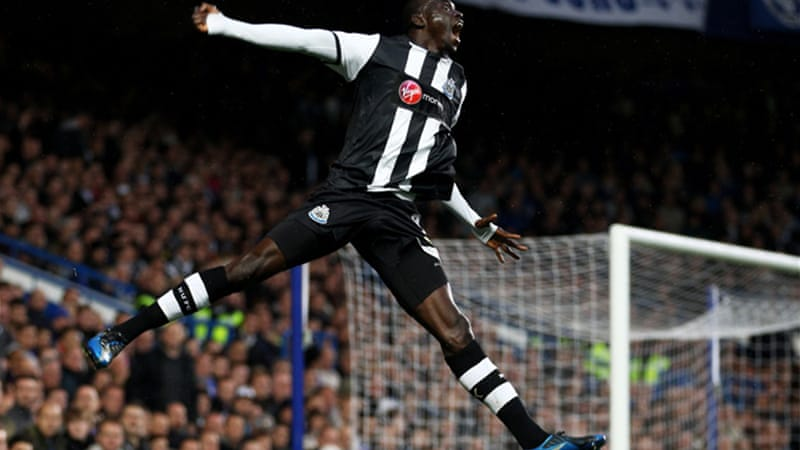 Cisse struck a great goal to open scoring against Chelsea  [GALLO/GETTY]