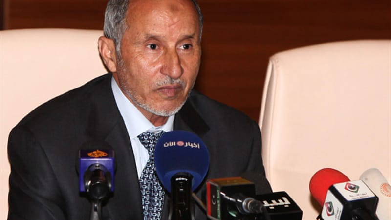 Abdel Jalil's NTC last week said it had passed a law banning parties based on religious, tribal or ethnic lines [AFP]
