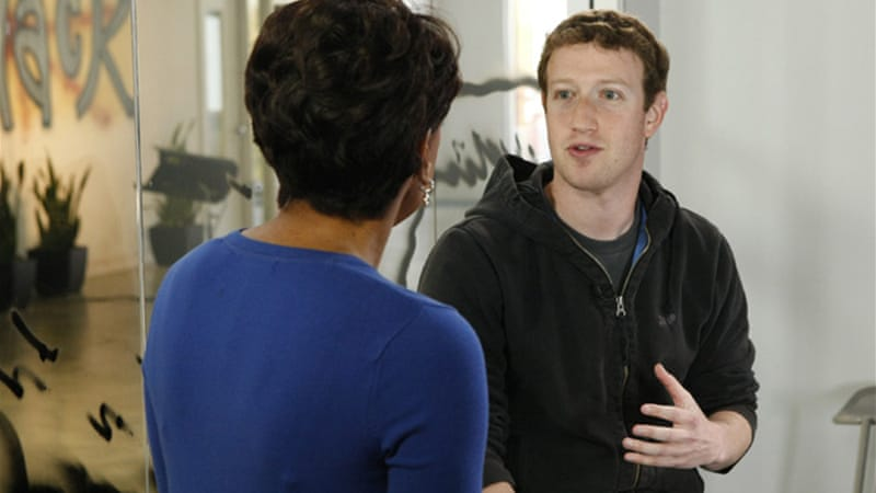 Facebook founder Mark Zuckerberg discussed the initiative on ABC's 'Good Morning America' on Tuesday [Reuters]