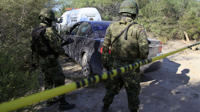 About 50,000 people have been killed in drug-related violence in Mexico since December 2006 [AFP]