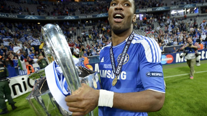 Drogba's move to Shanghai has been the subject of speculation for months after the Ivory Coast striker announced his departure from European Champions Chelsea last season [Reuters]