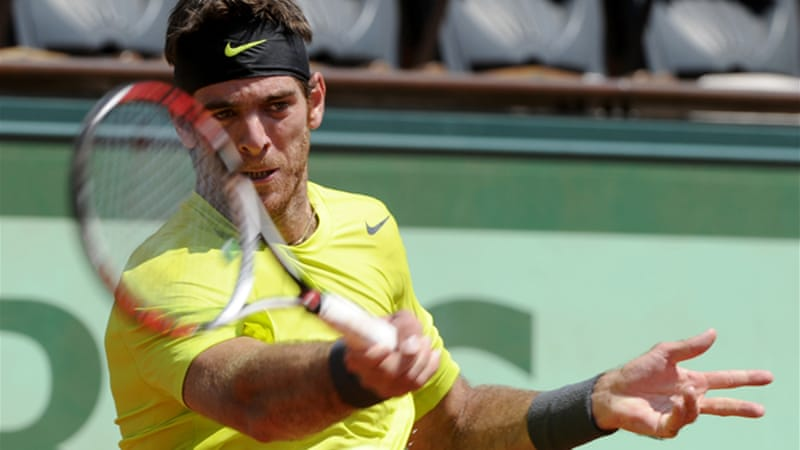 Ninth seed Juan Martin Del Potro shrugged off an injury scare to battle past Spain's Albert Montanes, booking a second round clash against France's Edouard Roger-Vasselin [EPA]