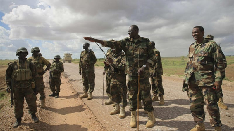 Al-Shabab fighters have been linked to attacks on African Union peacekeepers in Somalia [EPA]
