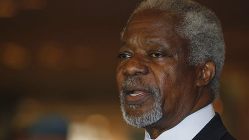 Kofi Annan's peace plan for Syria is in crisis, as up to 2,000 people were killed in Syria in May alone [Reuters]