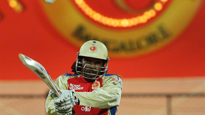 Gayle is currently in superb form playing for the Royal Challengers Bangalore in the IPL [AFP]