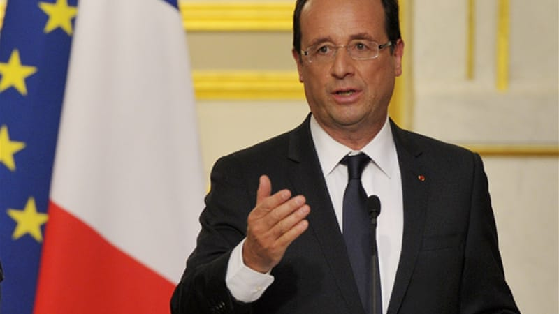 France's President Francois Hollande has pushed for bold, co-ordinated policies to promote growth [Reuters]