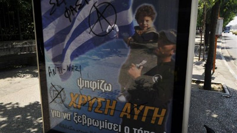 Greek fascist groups have begun to target the country's 'wretched and defenceless' [AFP]