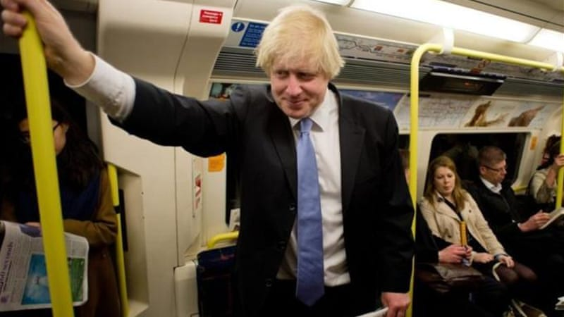 Johnson is set to stay in office as London mayor in what would be the Tories' only major success [AFP]