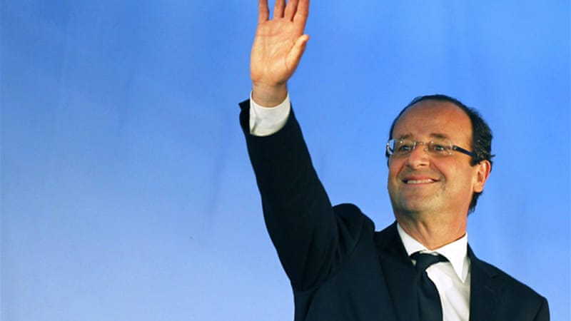 France goes to the polls on Sunday with Socialist Party leader Francois Hollande billed as the frontrunner [Reuters]