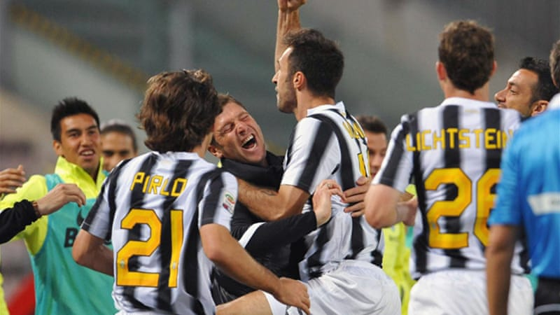 Juventus remain unbeaten as they secure first title since match-fixing scandal [AFP]