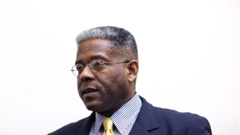 Republican Congressman Allen West said many congressional Democrats are members of the Communist Party [EPA]
