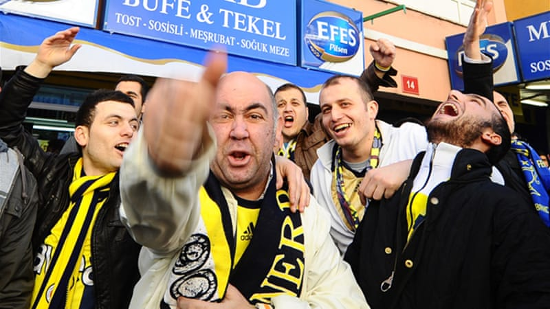 Relieved Fenerbahce fans now look forward to title deciding match against local rivals Galatasaray [GALLO/GETTY]
