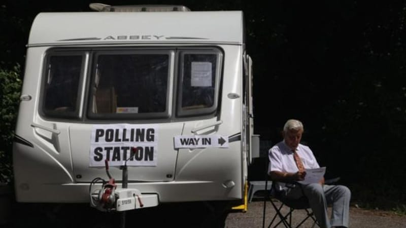 Disillusionment with the political process in the UK has contributed to the extremely low voter turnout [Getty Images]