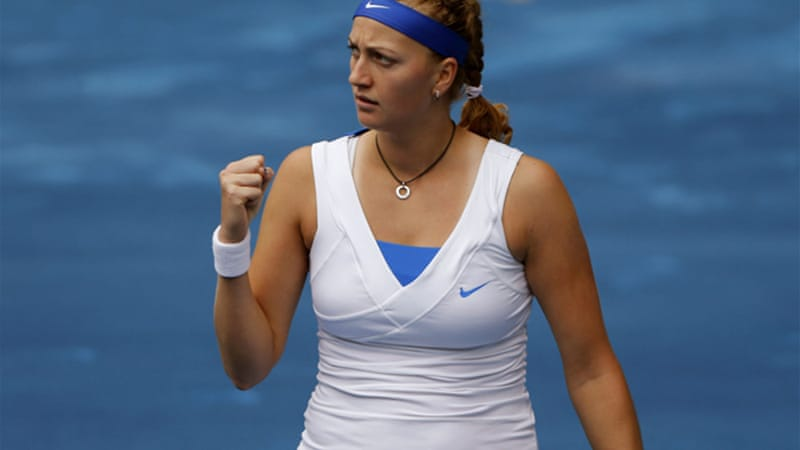 Defending champion Petra Kvitova beat Victoria Azarenka in the final at Madrid last year before going on to win Wimbledon [EPA]