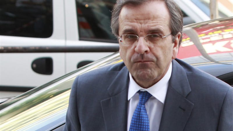 Greek Prime Minister Antonis Samaras is expected to ask for more time to repay its loans [Reuters]