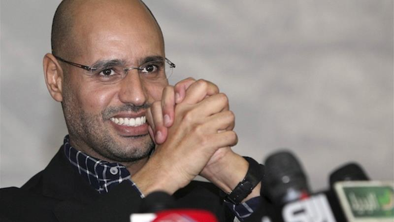 Saif al-Islam is seeking a trial before the International Criminal Court in the Netherlands [EPA]
