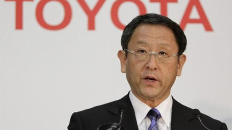 Toyota President Akio Toyoda said the company's vision was to be profitable in any business circumstances [EPA]