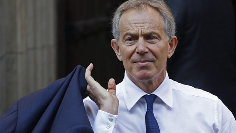 Blair's office said he was 'sorry' the archbishop had decided to pull out [Reuters]
