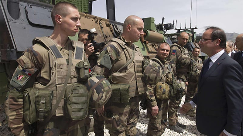 Majority of France's 3,500 troops currently in Afghanistan are stationed in the eastern province of Kapisa [Reuters]