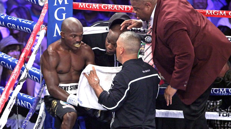 Timothy Bradley ended Pacquiao's long unbeaten run with a controversial split decision victory [AFP]