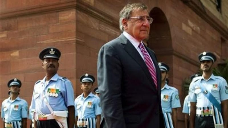 US Secretary of Defence Leon Panetta recently visited New Delhi in an attempt to convince the Indians to raise their level of engagement in Afghanistan from economic and development assistance to security forces as well [AP]