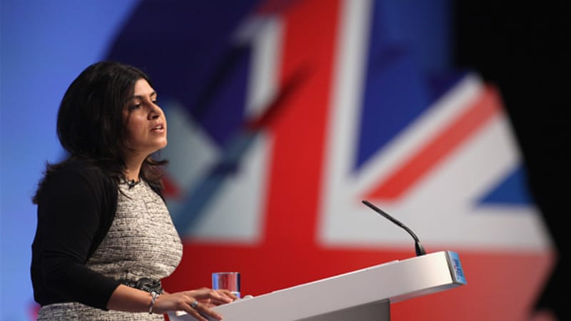 """Whatever Lady Warsi is, or was, we need more Muslims represented in our political processes"" [GALLO/GETTY]"