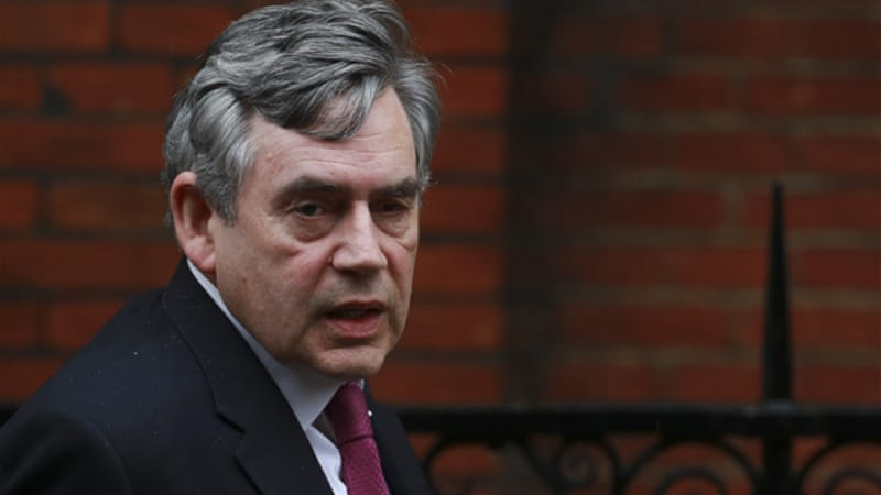 Ex-Prime Minister Gordon Brown said British athletes' success validates England and Scotland's Union [Reuters]