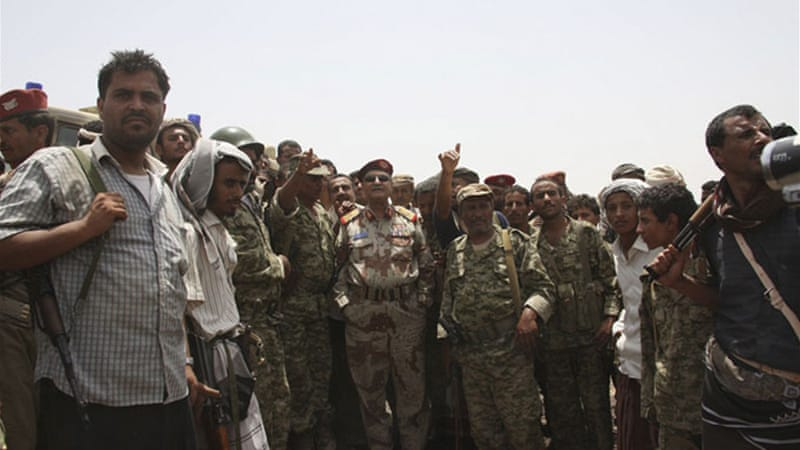 Yemeni forces launched an all-out offensive on May 12 to reclaim towns and cities lost to Ansar al-Sharia  [Reuters]