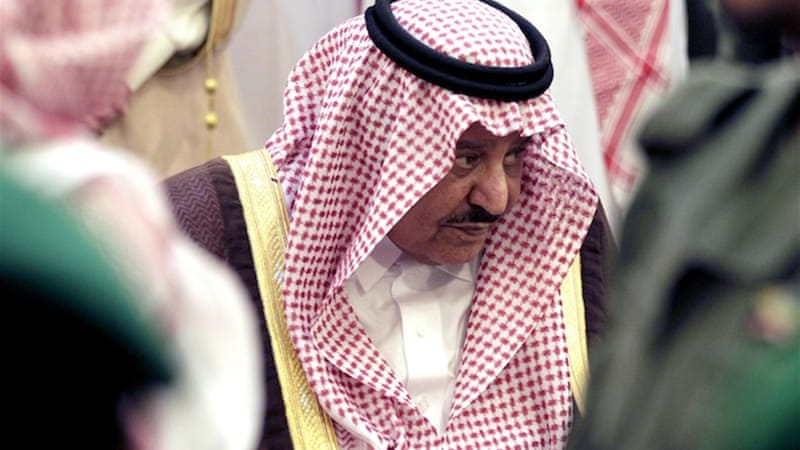 Saudi Interior Minister Prince Nayef bin Abdulaziz was notoriously conservative when it came to women's rights [EPA]