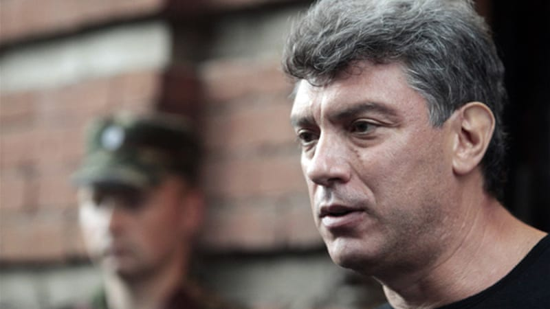 People's Freedom Party leader Boris Nemtsov said Putin's rule resembles that of Belarus' leader Lukashenko [Reuters]