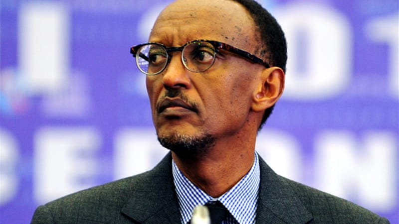Paul Kagame, 57, won a second seven-year term in office in 2010 with more than 90 percent of the votes [EPA]