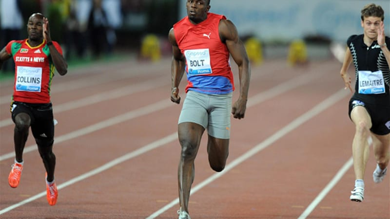 The 25-year-old Jamaican won the 100m at the Rome Diamond League meeting in 9.76 seconds, the fastest time in the world this year [EPA]