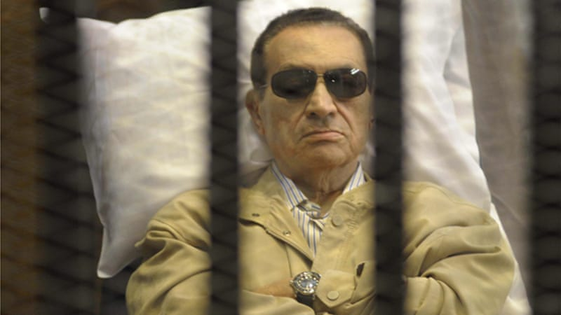Mubarak has been sentenced to life in prison for his role in the deaths of protesters during Egypt's uprising [Reuters]