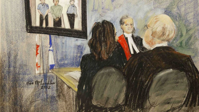 Magnotta's next court appearance, via video link, will be on Thursday [Reuters]