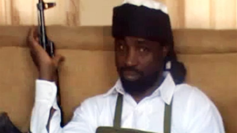 Abubakar Shekau is said to be the leader of Nigeria's Boko Haram armed group [AFP]