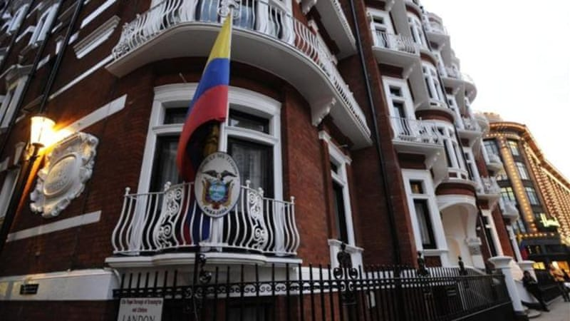 WikiLeaks founder Julian Assange has taken refuge in Ecuador's London embassy and is requesting asylum [EPA]
