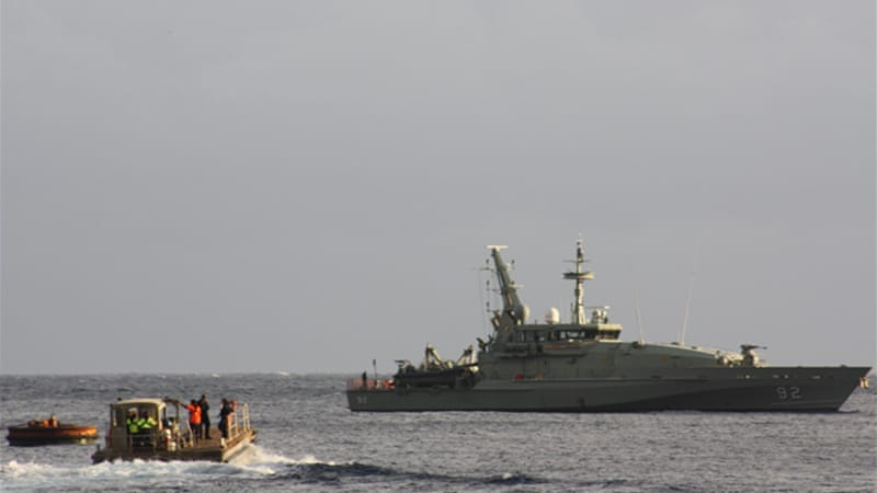 Some 108 asylum-seeker boats carrying 7,364 people have arrived in Australia so far this year [EPA]