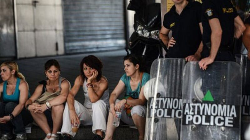 Greece has seen widespread protests over string of punishing austerity measures as part of bailout packages [AFP]