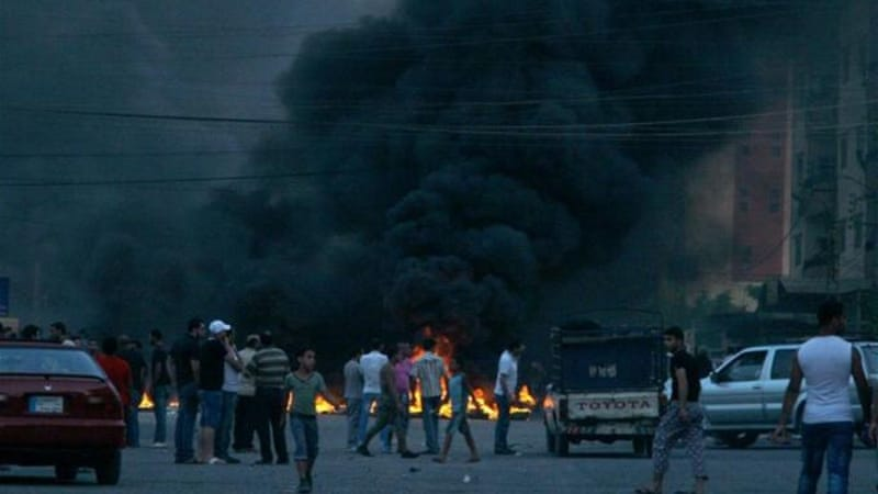 Clashes broke out in Palestinian refugee camps in Lebanon after a youth was killed by the Lebanese army [AFP]