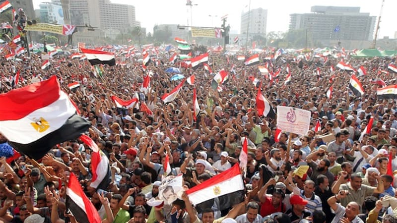 Mohamed Morsi's supporters celebrated his presidential victory in Tahrir Square, the nucleus of the revolution [EPA]