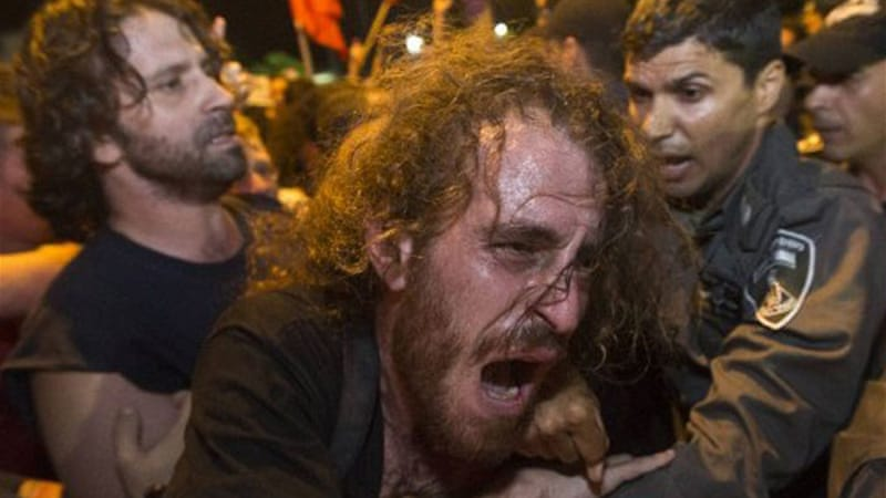 Activists have accused police of using brutal means to quell the social protests [AFP]