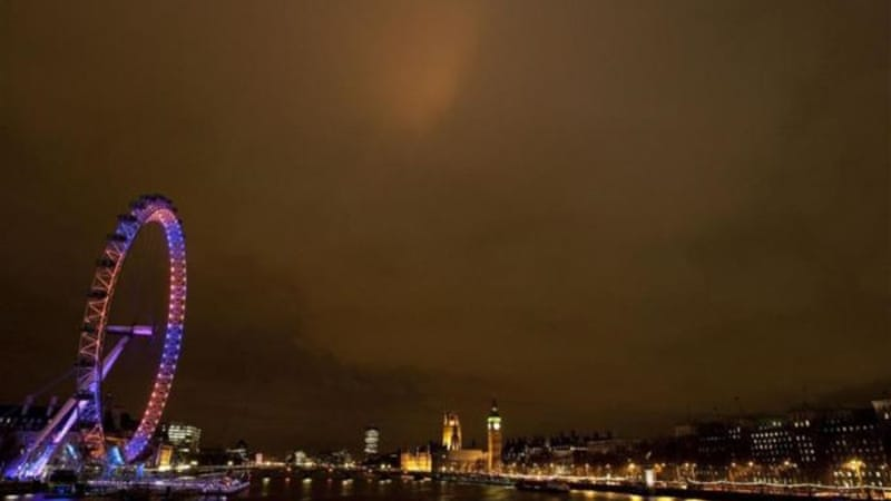Dark clouds continue to loom over the British economy, say analysts, threatening a torrential storm [AFP]