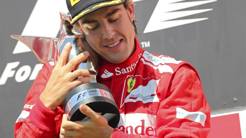 In the one of the most open F1 seasons in history, Fernando Alonso became only the second repeat winner in 2012 [EPA]