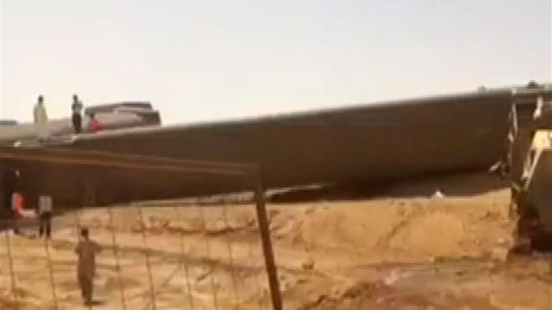 The train was on its way to Dammam in the country's oil-rich east [Al Jazeera]