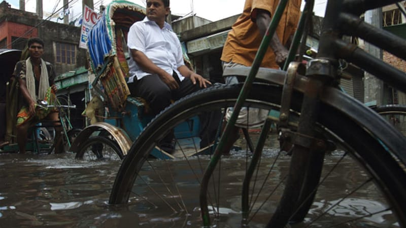 Monsoon floods are common in Bangladesh, a delta nation of 160 million people [Getty Images]