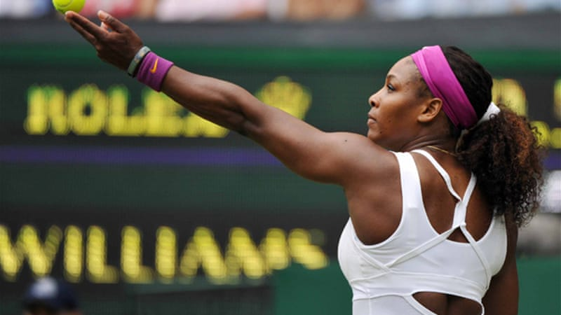 Four-time champion Williams cruised into the third round with a demolition of Hungarian qualifier Melinda Czink, and next faces Chinese 25th seed Zheng Jie [EPA]